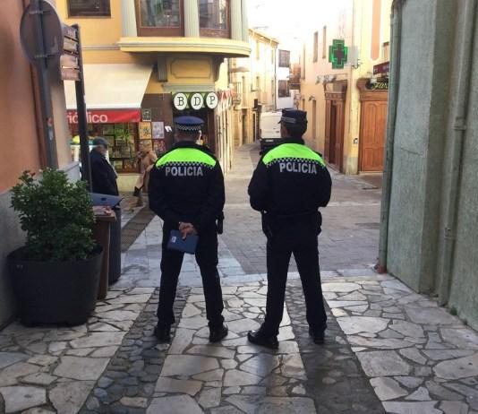 Policia Local de Palafrugell en una imatge d'arxiu