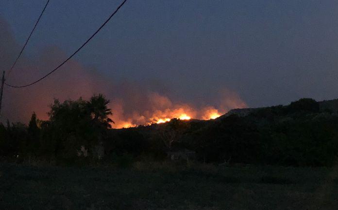 El foc al massís del Montgrí   Imatge de Ràdio Capital