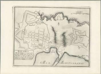 Mapa de Palamós, de 1694