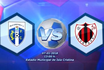 Fútbol en Directo – Isla Cristina FC vs AD Cartaya (audio + crónica)