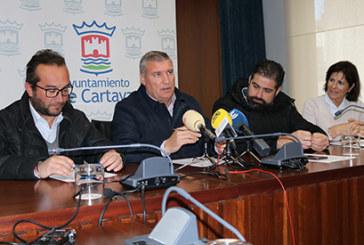 El Ayuntamiento y el Cartaya estrechan su colaboración para reforzar la Escuela de Fútbol Base