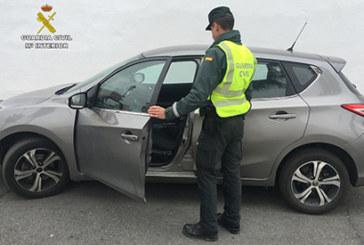 San Bartolomé de la Torre | La Guardia Civil recupera un vehículo sustraído en Lérida