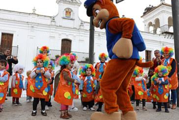 Fiestas infantiles de Carnaval para abrir paso al pasacalles de mañana sábado
