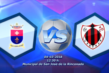 Fútbol en Directo – AD San José vs AD Cartaya (audio + crónica)