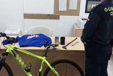 La Guardia Civil detiene a tres varones relacionados con 12 robos con fuerza e intimidación ocurridos en Cartaya, Aljaraque y Huelva