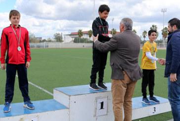 Más de 650 menores cartayeros participan en las 'Olimpiadas Escolares 2018'