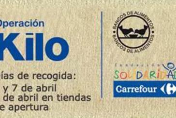 Llega la Operación Kilo al Centro Carrefour Cartaya