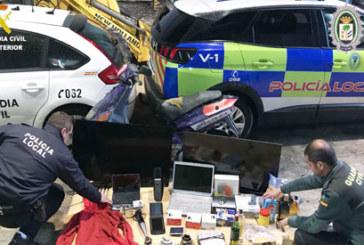 La Palma del Condado | La Guardia Civil en coordinación con Policía Local desarticula una organización delictiva dedicada al robo