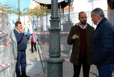 El Ayuntamiento acomete la remodelación de la Plaza Larga