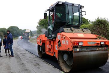 Primeros caminos asfaltados en Cartaya, en el marco del Plan Integral de Reparación de los Caminos Rurales