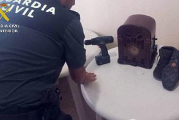 Minas de Riotinto | La Guardia Civil relaciona a un varón como supuesto autor de cinco robos y un hurto en inmuebles