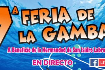 En directo | 7ª Feria de la Gamba a beneficio de la Hdad. de San isidro Labrador de Cartaya