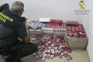 Lepe | La Guardia Civil interviene 1100 cajetillas de tabaco de contrabando