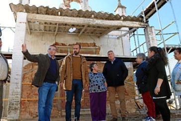 Recta final de los trabajos de restauración de la Ermita de la Cruz de los Milagros