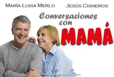 María Luisa Merlo protagoniza 'Conversaciones con mamá' mañana viernes en Cartaya