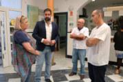 La Delegada de Salud y el alcalde visitan los centros sanitarios de Cartaya y El Rompido