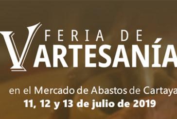 El mercado municipal de Cartaya acogerá la V edición de la Feria de la Artesanía.