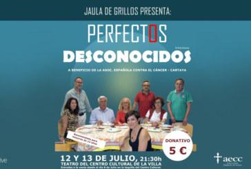 Jaula de Grillos regresa a Cartaya con una comedia a beneficio de la Asociación Española Contra el Cáncer