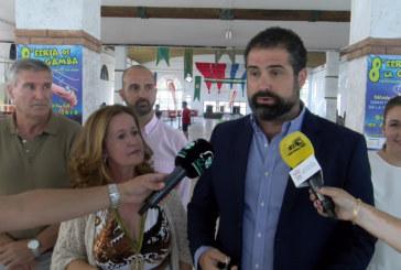 Cartaya Tv   Inauguración de la VIII Feria de la Gamba de la Hdad. de San Isidro Labrador de Cartaya