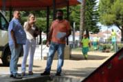 El Ayuntamiento pone en marcha en El Almendral el plan de actuación para mejorar los parques y jardines