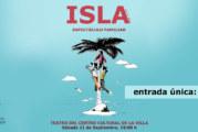 La compañía D,Click presenta este fin de semana en Cartaya 'Isla'