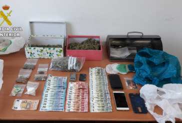 Escacena del Campo |La Guardia Civil ha desarticulado un punto de venta de droga