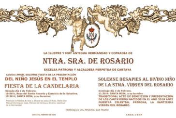 La Hdad. del Rosario de Cartaya celebra la fiesta de la Candelaria