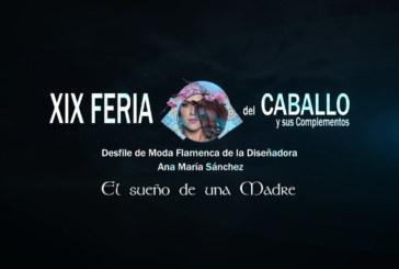 Cartaya Tv | Feria del Caballo 2020: La diseñadora Ana María Sánchez presenta su colección «El Sueño de una Madre»