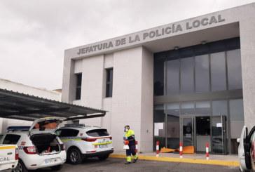 El Ayuntamiento de Cartaya, uno de los primeros de la provincia en desinfectar la Jefatura de Policía Local