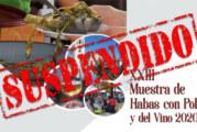 Suspendido la XXIII edición de la Muestra de Habas con Poleo y del Vino de la Palma del Condado
