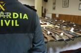 La Guardia Civil informa  de las medidas adoptadas en materia de armas, con motivo de la declaración del estado de alarma para la gestión de la crisis del covid-19