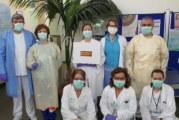 Los vecinos de Valverde del Camino han confeccionado 400 batas para el personal sanitario