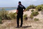 La Policía Local de Cartaya intensifica los controles en las playas y las terrazas de cara al fin de semana