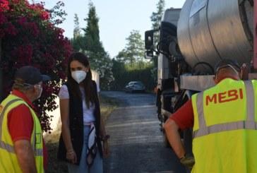 El Ayuntamiento Cartaya arregla el camino de El Puntal