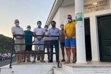 El Ayuntamiento de Cartaya y la Asociación de Vecinos Portileños analizan las necesidades del núcleo costero