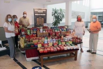 El Ayuntamiento entrega casi 500 kg de alimentos al comedor social de Cartaya