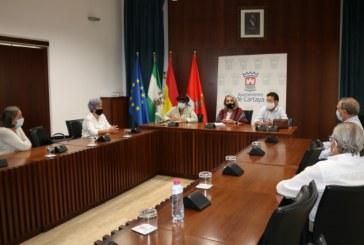 El Ayuntamiento y la Asociación de Mayores Juan Pérez Pastor estrechan su colaboración para poner en marcha iniciativas conjuntas