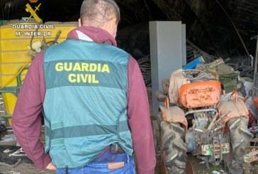 Rociana del Condado | La Guardia Civil esclarece un robo perpetrado en una finca de la localidad