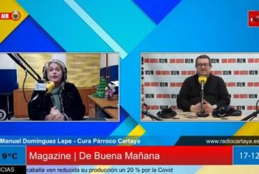 Radio Cartaya | El Párroco de Cartaya hace un llamamiento a la responsabilidad en esta Navidad