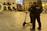 El Ayuntamiento intensifica los controles de patinetes eléctricos  en Cartaya