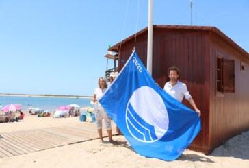 Satisfacción municipal porque Cartaya consigue cuatro banderas azules, dos de ellas para las Playas de San Miguel y Nuevo Portil