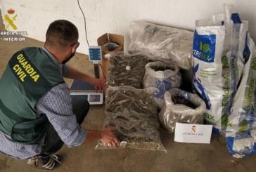 Gibraleón | La Guardia Civil interviene doce kilos de marihuana en la localidad