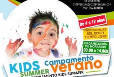 Abierto el plazo para el Campamento Deportivo de Verano que se desarrolla en las instalaciones municipales