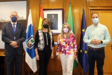 El Ayuntamiento y el Puerto de Huelva avanzan en la concesión del Faro de El Rompido