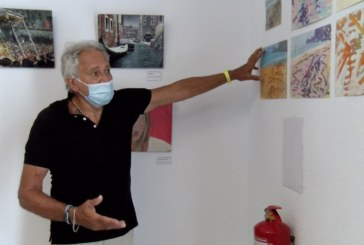 Cartaya Tv | El pintor italiano Flavio Olivieri expone sus pinturas en El Rompido