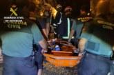 Aracena  | La Guardia Civil en colaboración con el Consorcio de bomberos, rescata a una adolescente que había sufrido una caída en el interior de las Grutas de las Maravillas de la localidad