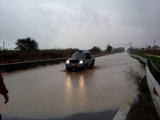 Viabilità – Maltempo: chiusura temporanea della Superstrada Sora-Cassino nel tratto Posta Fibreno-Atina