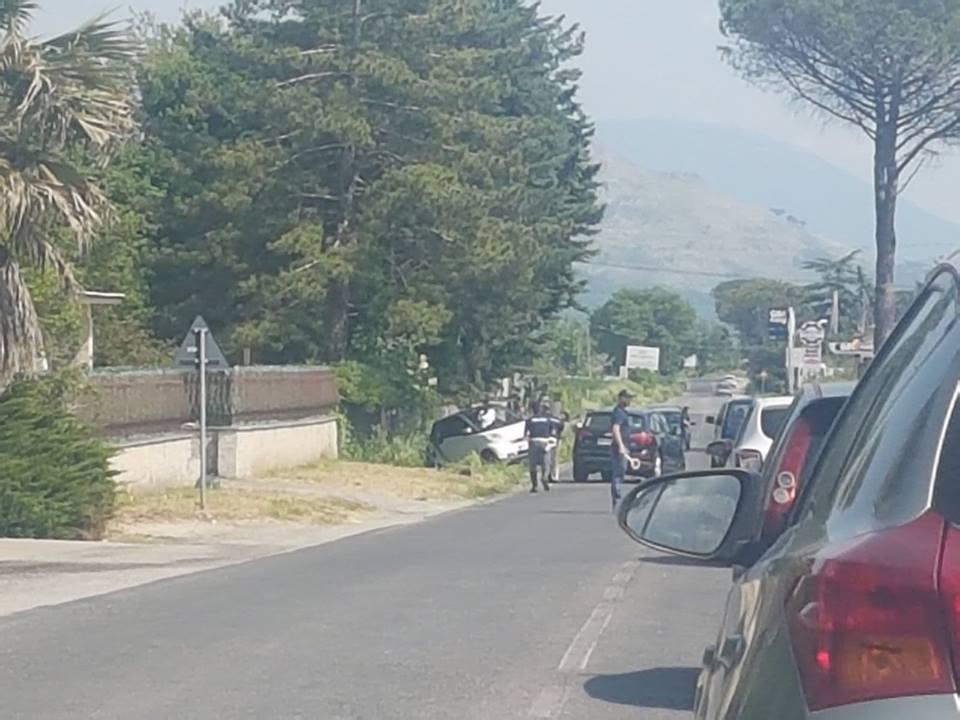 Cassino – Grave incidente stradale sulla Casilina tra una Smart e un'Audi. Giovane ricoverato in ospedale