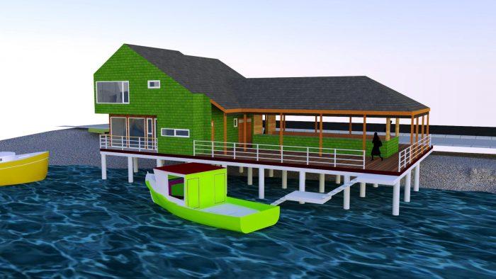 Castro: se construirá moderno Centro Polifuncional para pescadores y algueros en sector Pedro Montt.
