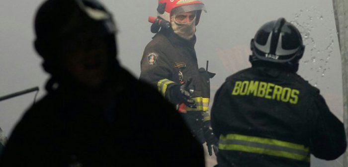 Castro: incendio consumió por completo casa habitación.
